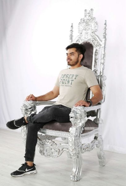 Picture of King  Lounge Chair *Silver