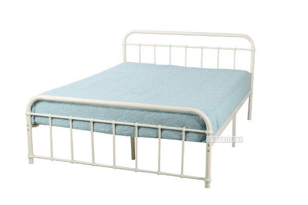 Charlie Steel Frame Bed In Queen Size, Queen Bed Mattress Size Nz