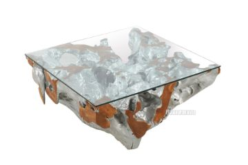 Picture of Tamarind Solid Teak Coffee Table Silver *2 sizes