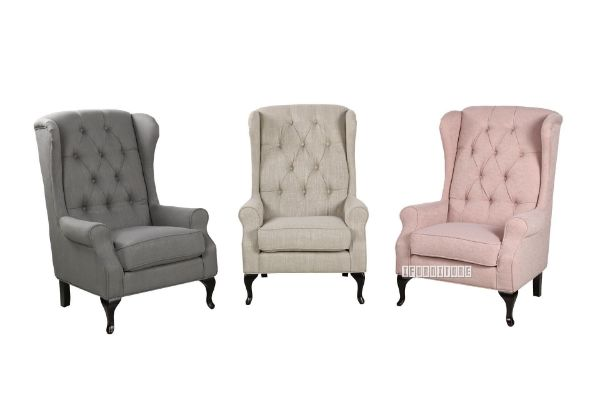 Picture of BELFORD Wing Chair /Lounge Chair *3 colours
