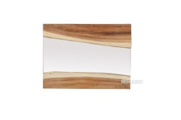 Picture of Astrid Solid Teak Live Edge Hanging Mirror * 3 Sizes