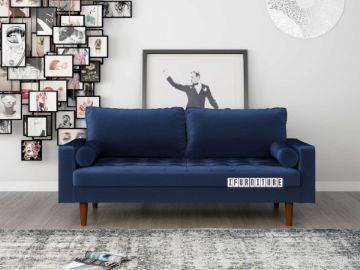 Picture of Faversham 3+2 Sofa Range * Space Blue Velvet