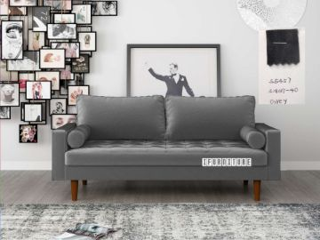 Picture of Faversham 3+2 Sofa Range * Grey Velvet