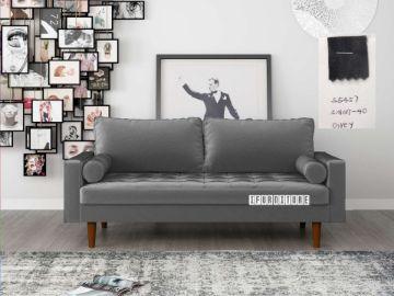 Picture of Faversham 3+2 Sofa Range * Grey Velvet