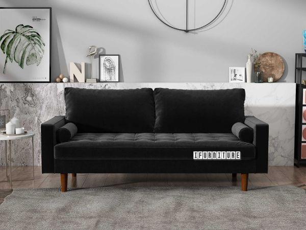 Picture of Faversham 3+2 Sofa Range *Black Velvet