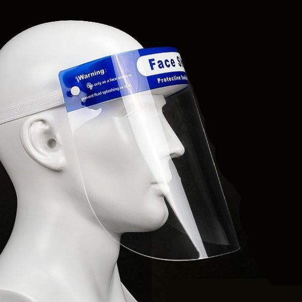Picture of Adjustable Transparent Face Shield Protective Mask Full Face Protection -Anti Fog