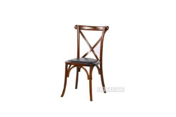 Picture of ALBION CROSS BACK DINING CHAIR *soild ash *FRUITWOOD