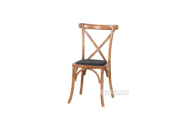 Picture of ALBION CROSS BACK DINING CHAIR*solid ash *NATURAL