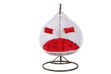 Picture of MALAM Double Seat Rattan Hanging Egg Chair