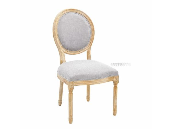 Picture of ELISE FRENCH UPHOLSTERED DINING CHAIR*BEIGE