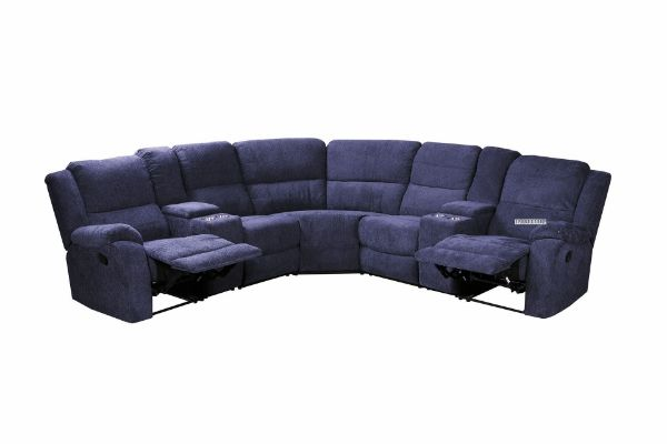 Picture of Alto Sectional Modular Reclining Sofa * Cup Holders  and Storage