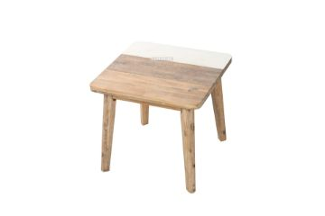 Picture of LEAMAN  Acacia Side Table