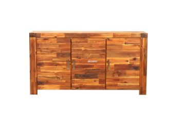 Picture of PHILIPPE Acacia Sideboard/Buffet *Rustic Java Color