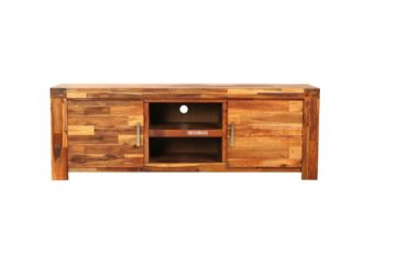 Picture of PHILIPPE Acacia Tv Unit *Rustic Java Color