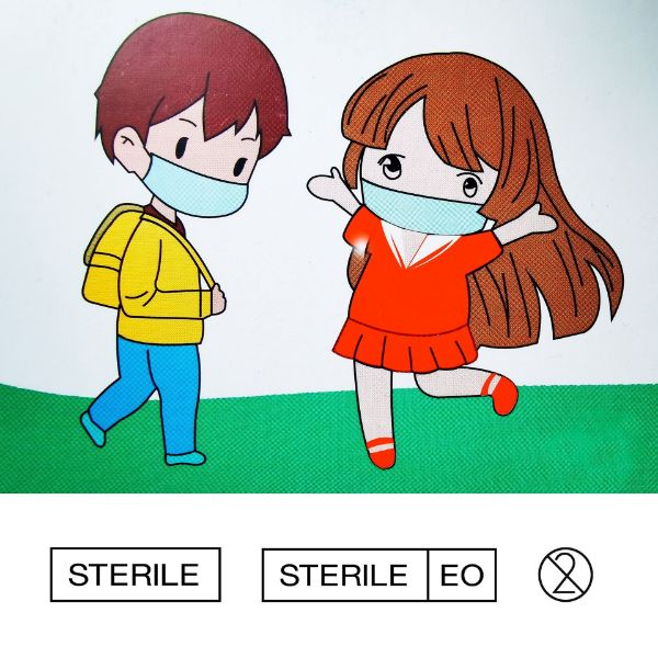 Picture of Sterile Kids Disposable Medical Face Mask 10 PC