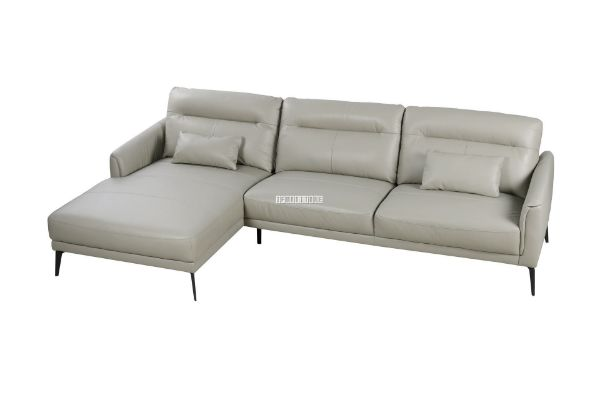 Picture of Freedom Sectional GENUINE LEATHER Sofa *Beige