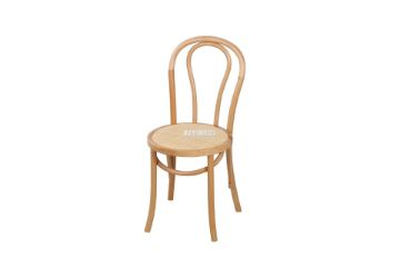 Picture of Raymon Solid Beech Dining Chair *NATURAL WITH RATTAN SEAT