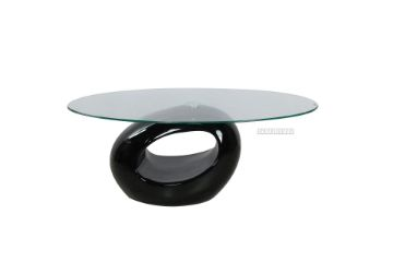 Picture of JUPITER Fiber Glass Coffee Table in Black Color