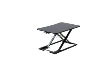 Picture of Jasper I Height Adjustable standing computer desk *BLACK