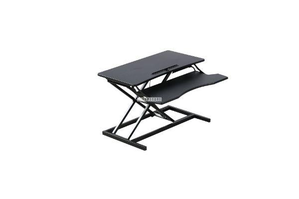 Picture of Jasper II Height Adjustable standing computer desk *Black