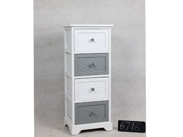 Picture of LEESA WOODEN CHEST WITH 4 DRAWERS
