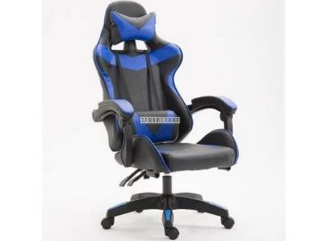 Picture of IRONMAN 0302 RECLINING GAMING OFFICE CHAIR *Blue