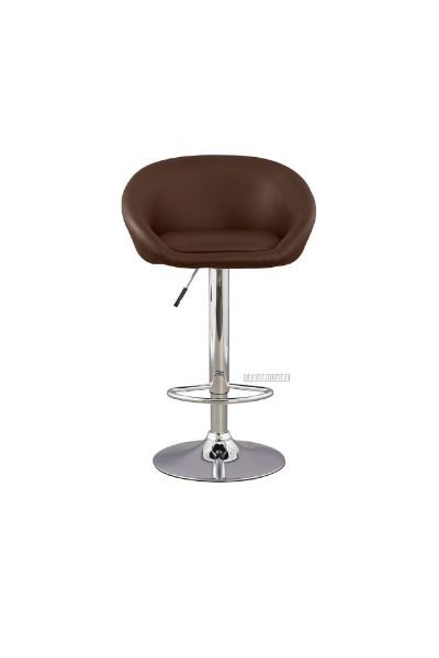 Picture of GLENNIA PU Barstool *Brown