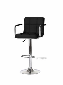 Picture of TITAN PU Bar Chair *Black