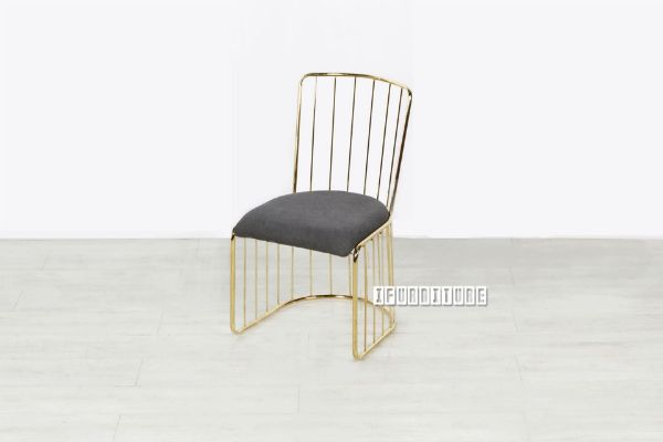 Picture of MARBELLO Gold Frame Dining Chair