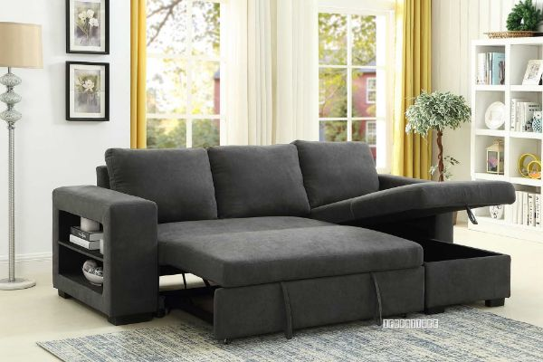Picture of Lucena Reversible Sectional Sofa/Sofa Bed with Storage