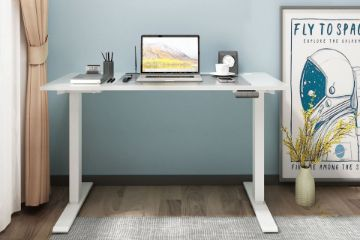 Picture of UP1 120 TWIN MOTOR Electric Height Adjustable Standing Desk* White