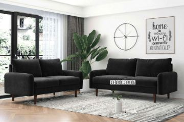 Picture of KAISON 3+2 SOFA RANGE *Black