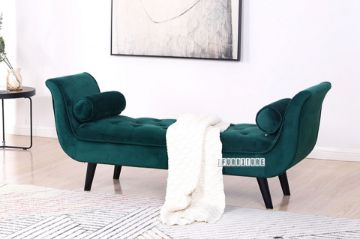 Picture of ORVA Arm Bench *Green Velvet