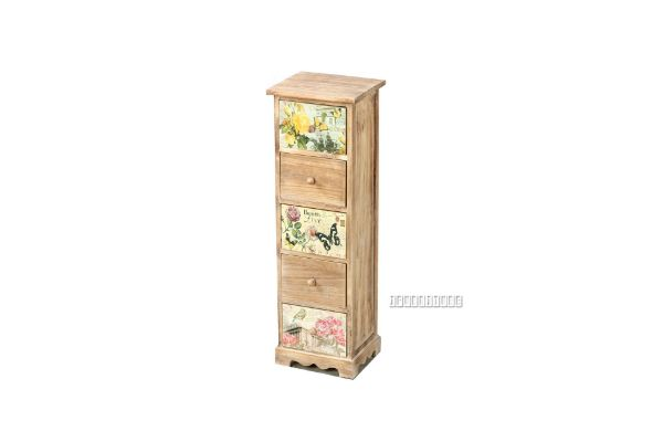 Picture of FLORIST Painted Cabinet With 5 Drawers