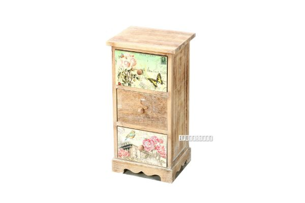 Picture of FLORIST Painted Cabinet With 3 Drawers