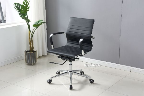 Picture of Replica Eames Low Back Chair  *Black PU