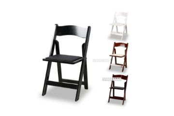 Picture of Retreat Foldable Dining Chair *Black/White/Light Brown/Dark Brown