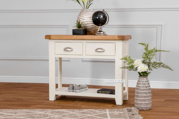 Picture of COCAMO 85 Oak Top Console Table *Grey