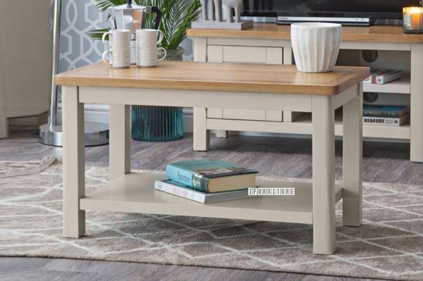 Picture of COCAMO 80 Oak Top Small Coffee Table *Grey