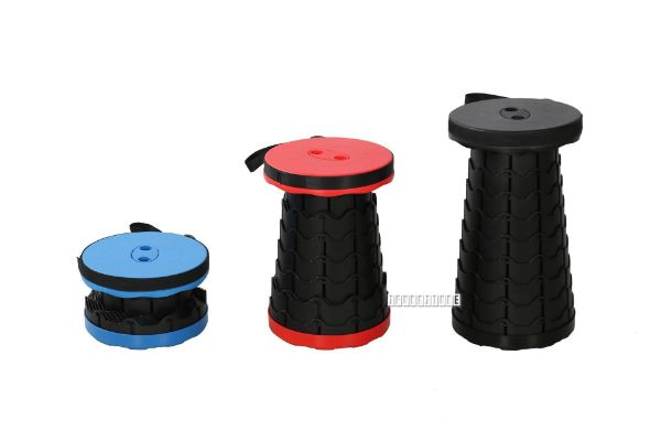 Picture of CARON Portable Stool *Blue/Red/Black