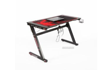 Picture of ANAKIN 140 LED Light Gaming Desk *Black