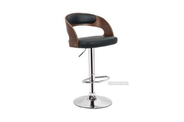 Picture of SADDLE Bentwood With PU Barstool *Black