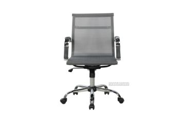 Picture of FREDA Mesh Low Back Chair *Grey