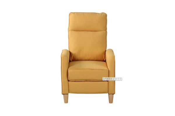 Picture of FINLEY PUSH BACK RECLINER CHAIR *YELLOW