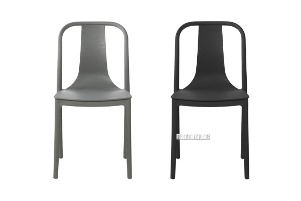 Picture of BRIO Dining Chair *Charcoal / Black