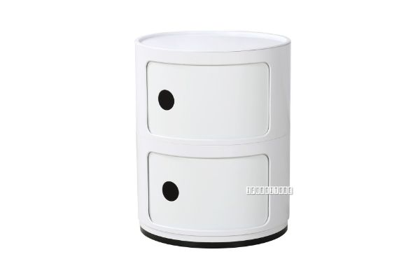 Picture of MIURA Side Table With 2 Drawers *White
