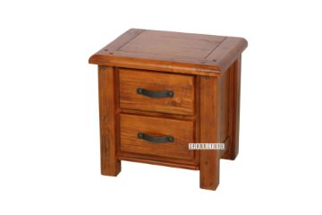 Picture of RIVERWOOD 2 DRW Rustic Pine Bedside Table