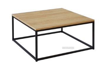 Picture of HENMAN 85 Square Coffee Table *Oak and Black