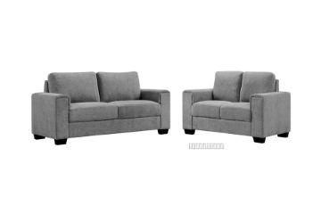 Picture of MONA 3+2 Fabric Sofa Range *Grey