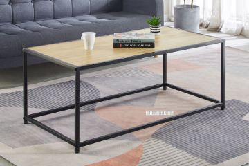 Picture of HENMAN 122 Rectangle Coffee Table *Oak and Black